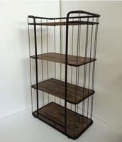 Estanter�a madera y metal - Estanter�a madera y metal fabricado en Hierro