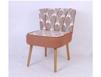 Sillon Archie - Sill�n Archie fabricado en polipiel y playwood