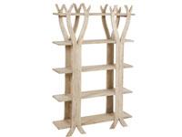 Estantería árbol - Estantería árbol fabricado en madera de mindi