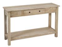 Consola 1 caj�n colonial - Consola 1 caj�n colonial fabricado en madera de acacia