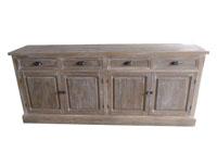 Aparador colecci�n Paula - Aparador colecci�n Paula fabricada en  madera de pino, madera de paulownia y mdf.
