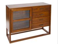 Aparador Vintage - Aparador Vintage fabricado en madera de acacia