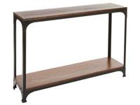 Consola madera y metal - Consola madera y metal fabricado en  madera de acacia