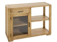 Consola con caj�n y puerta IOS - Consola con caj�n y puerta IOS fabricado en madera de acacia