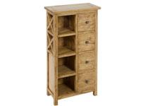 Estantería 4 cajones IOS - Estantería 4 cajones IOS fabricado en madera de acacia