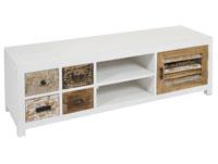Mesa de televisión Rabat - Mesa de televisión Rabat, fabricado en madera de mindi