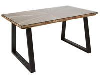 Mesa de comedor Sun - Mesa de comedor Sun, fabricado en madera de mindi
