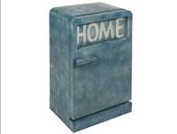 Aparador metal vintage azul - Aparador metal vintage azul, fabricado en hierro