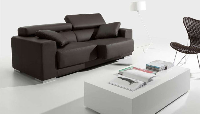Sof taipei 3 plazas reclinable y extensible s010 muebles for Sofa extensible 4 plazas