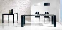 Mesa de comedor extensible Anca de grandes dimensiones - Mesa de comedor extensible Anca de grandes dimensiones