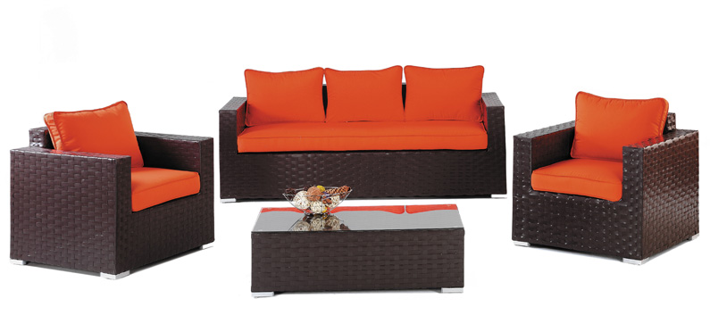 Set de sof s para exteriores tivoli muebles de terraza y for Sillones de exterior