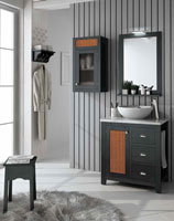 Muebles para baño COLONIAL 5 - Composición de muebles para baños COLONIAL 5, Colección de muebles de baño llena de alta calidad, diseño y relax.