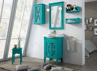 Muebles para baño ETNA 2 - Composición de muebles para baños ETNA 2, Colección de muebles de baño llena de alta calidad, diseño y relax.
