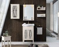 Muebles para baño ETNA 3 - Composición de muebles para baños ETNA 3, Colección de muebles de baño llena de alta calidad, diseño y relax.