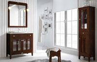 Muebles para baño LIRA 1 - Composición de muebles para baños LIRA 1, Colección de muebles de baño llena de alta calidad, diseño y relax.
