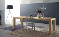 Mesa de comedor extensible BRUMONT - Mesa de comedor extensible BRUMONT, fabricada en madera