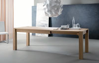 Mesa de comedor extensible CREW - Mesa de comedor extensible CREW, fabricada en madera