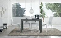 Mesa de comedor extensible LONGWAY - Mesa de comedor extensible LONGWAY, fabricada en madera