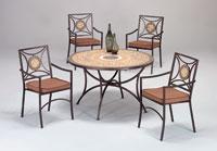 Set sillas y mesa mosaico modelo ALGARVE