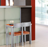 Mesa de cocina extensible Aroa 90