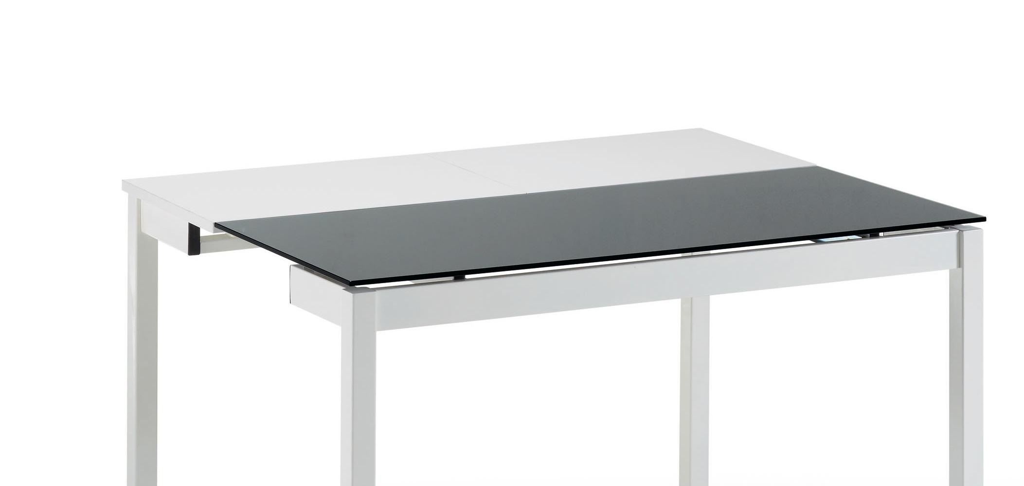 Mesa de cocina extensible cristal cocina y office mesas y - Mesas cocina altas ...