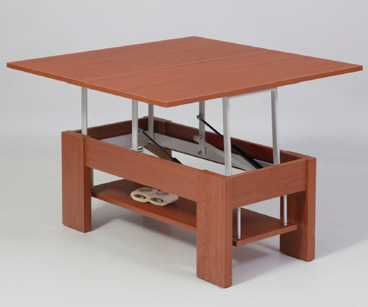 Casas cocinas mueble mesa elevable y extensible - Mesa centro elevable y extensible comedor ...