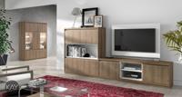 Sal�n moderno 2921 colecci�n KAY - Muebles de sal�n 2921 colecci�n KAY, Mueble TV con un mueble tito Aparador de media altura conseguimos una composici�n para el sal�n muy equilibrada
