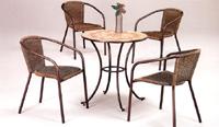 Set sillas y mesa mosaico modelo BARI
