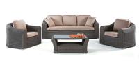 Set de sofás de exterior modelo BASCOLI
