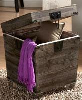 Baúl de madera vieja - Baúl de madera
