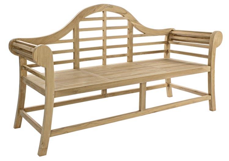 Banco para jard n exteriores madera teca - Muebles de teca para jardin ...