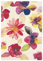 """Alfombra de la colección Kaleidoscope """"Stripe""""  - Alfombra de la colección Kaleidoscope """"Blossom"""""""