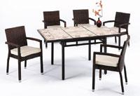Set sillas y mesa mosaico modelo BRUNY