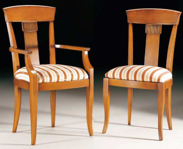 Sillas comedor de madera modernas for Sillas antiguas tapizadas modernas
