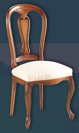 Sill n madera cl sico for Modelos de sillas clasicas
