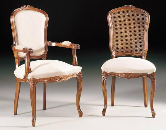 Sillas y sillones de madera cl sicos for Sillas clasicas modernas