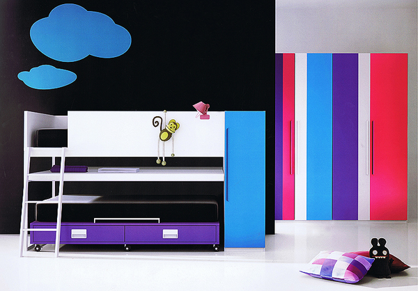 Joy cama juvenil 38 litera juvenil color frost for Pons actua muebles