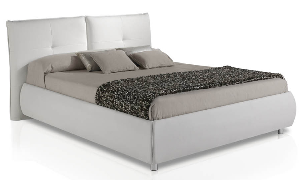 Cama canap acolchada y moderna cabeceros camas y mesillas - Camas y canapes ...