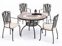 Set sillas y mesa mosaico modelo CAMBEL