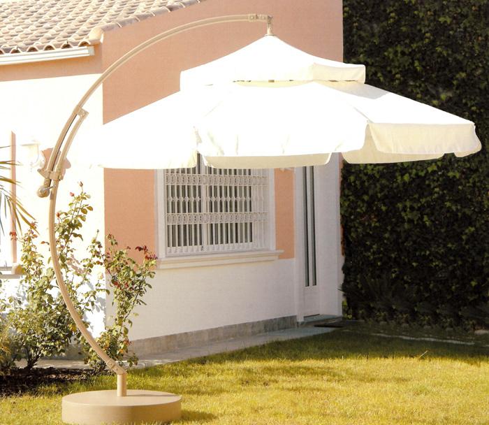 Parasol aluminio modelo CASTEL - Parasol de aluminio modelo Castel