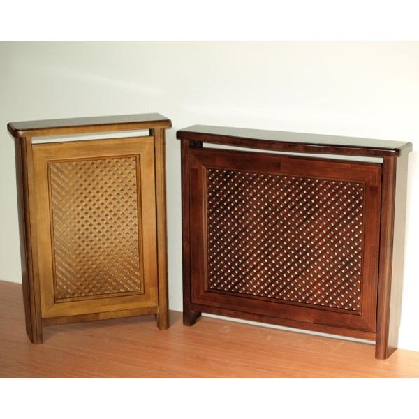 Cubreradiador de madera con celos a de dise o cl sico - Cubreradiadores clasicos ...