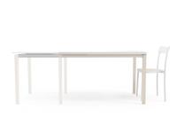 Mesa de comedor Toy Wood - Mesa extensible Toy Wood de estilo nórdico con estructura de madera