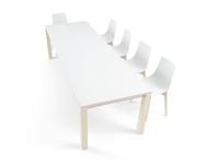 Mesa de comedor Quadra - Mesa de estilo nórdico para cocina y comedor Quadra de Vetas