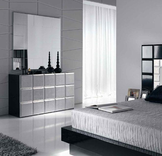 Juego dormitorio comoda espejo pamplona leon for Espejos comoda dormitorios