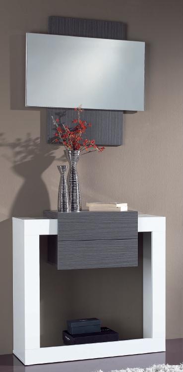 Recibidor y espejo dise o moderno madrid malaga mijas - Espejo recibidor moderno ...
