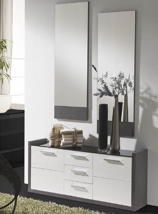 Recibidor y espejo dise o moderno santiago compostela lugo - Muebles recibidores de diseno ...