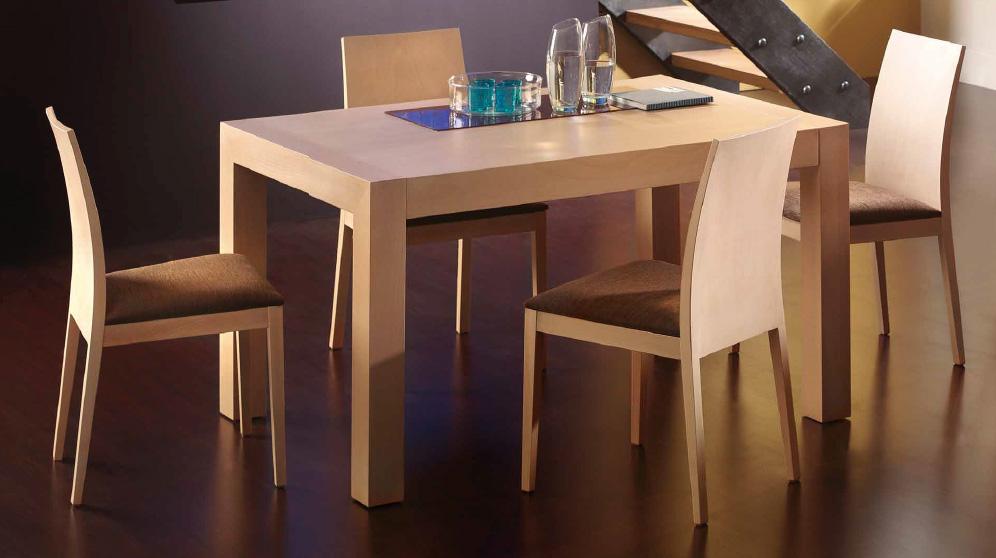 Silla moderna mesa comedor madrid for Sillas plegables para comedor