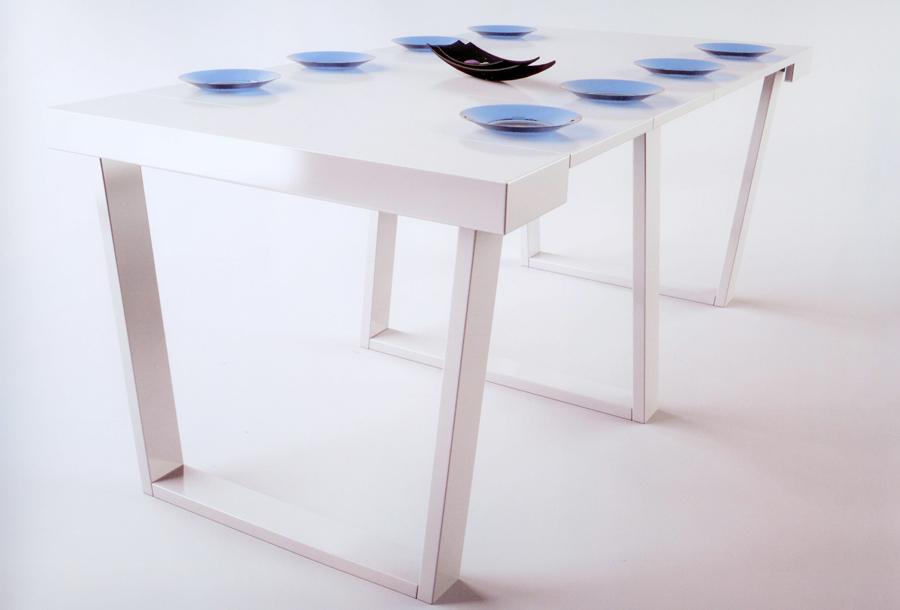 Consola mesa extensible mesas de comedor muebles de - Mesa consola extensible wengue ...