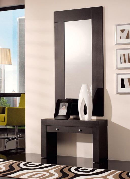Consolas entrada con espejo oferta talavera de la reina for Espejos largos modernos