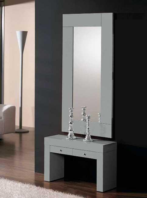 Consolas entrada con espejo oferta talavera de la reina for Espejos de entrada